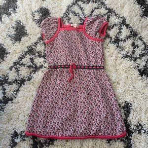 Girls floral sweater dress